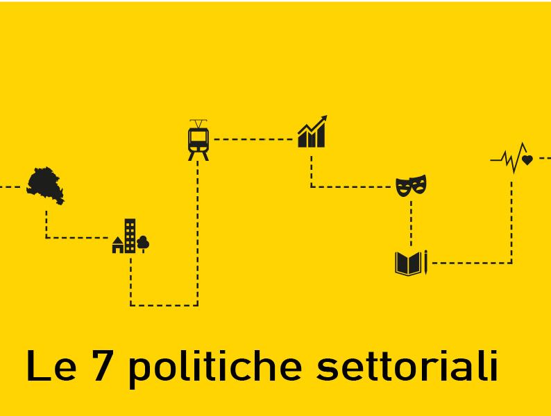 Le sette politiche settoriali