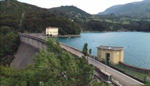 Diga lago di Suviana